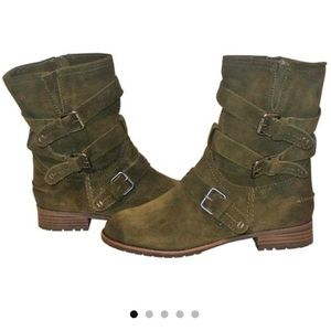 Dolce Vita Army Green Booties